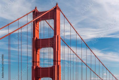 Poster Golden Gate Bridge, San Francisco, California