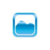 Picture of landscape symbol icon vector illustration graphic design