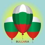 Bulgaria state flag airball