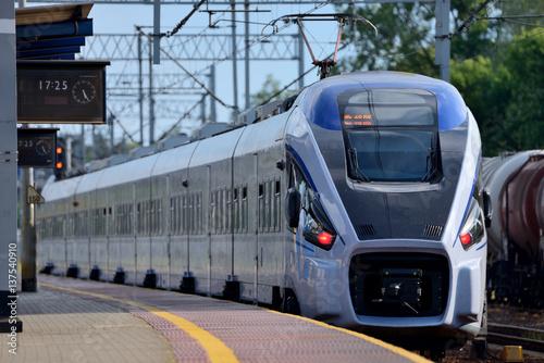 Fototapeta Passenger train.