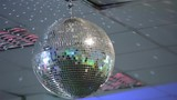 Variegated bright spinning discoball