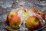 Сочные яблочки.