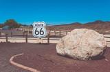 Sign Route 66, Arizona, USA
