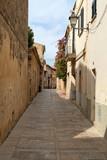 European deserted street