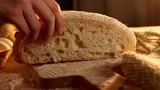 Bread in slow motion