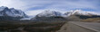 Panorama - Columbia Icefields and highway