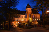 Zabytkowy ratusz w Sopocie/Historical old town hall in Sopot, Pomerania, Poland