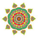 Eastern style decorative mandala design