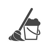 Fototapety Cleaning Icon Set - Illustration