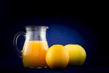 Zumo de naranja y pomelo