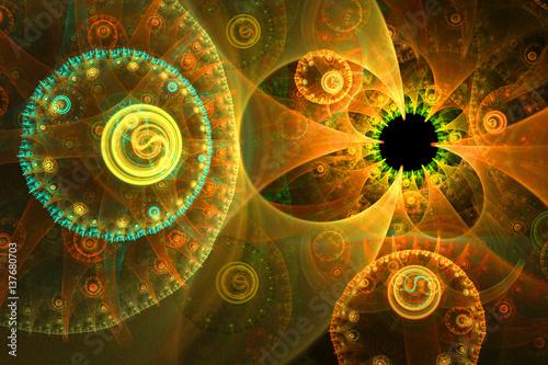 imagen-fractal-hermosos-disenos-sobre-un-fondo-oscuro