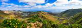 Lanzarote - impressive beauty of volcanic island.View of Haria village