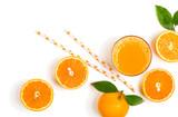 Fresh orange juice just squeezed. - 137717571