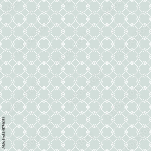 Seamless ornament in arabian style. Pattern for wallpapers and backgrounds. Light blue and white pattern - 137746398