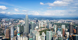 Aerial view of Kuala Lumpur skyline, Malaysia