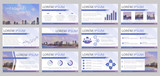 Presentation templates. Vector infographic backgrounds.