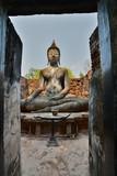 Wat Si Chum. Sukhothai historical park. Thailand