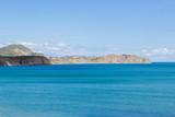 Landscape of Southern coast of Crimea. Chameleon cape