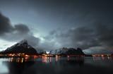 Sunset at Reine, Lofoten islands, Norway
