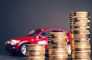 Hohe Autokosten