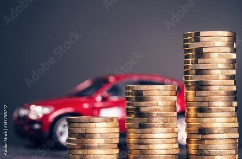Wysokie koszty samochodu