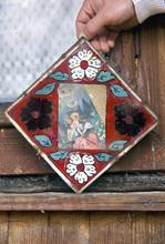 "Постер, картина, фотообои ""Icons in the old temple"""