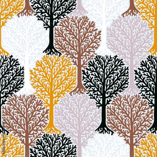 Pattern with trees - 137809561