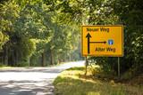 Schild 182 - Neuer Weg - 137813354
