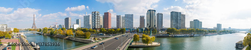 Panorama of the Beaugrenelle district, Paris