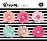 Collection of 6 beautiful blossom flower