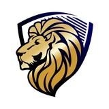 animal shield vector logo