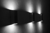 Modern wall lamps on wall. - 137878113