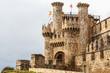 Castillo Templario de Ponferrada, Leon, España.