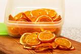 Fette di arancie essiccati