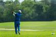 Golf Swing Isolated