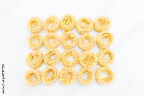 Poster Classical dry italian pasta