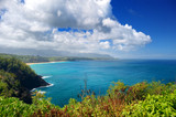 Beautiful landscape of Kauai island