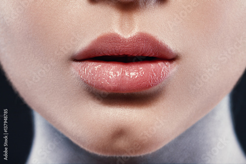 Close-up image of great beauty art make-up Poster