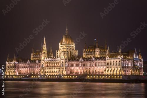 Poster Night Budapest
