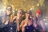 Girls celebrating - 138004302