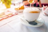 Foamy Tasteful Cappuccino