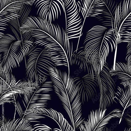 Seamless tropical pattern - 138017751