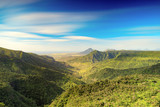 View from the Gorges viewpoint. Mauritius.