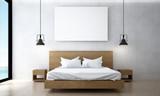 The minimal bedroom ...