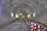 construction of the subway tunnel