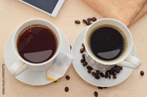 Papiers peints The Coffee or tea