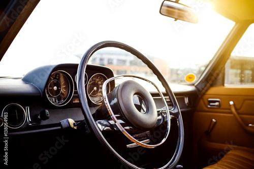 Mercedes Oldtimer Poster