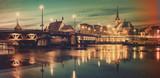 landmarks in the old city of Szczecin
