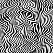 Materiał do szycia Wild Stripes Pattern