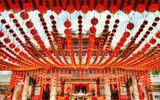 Thean Hou Chinese Temple in Kuala Lumpur, Malaysia